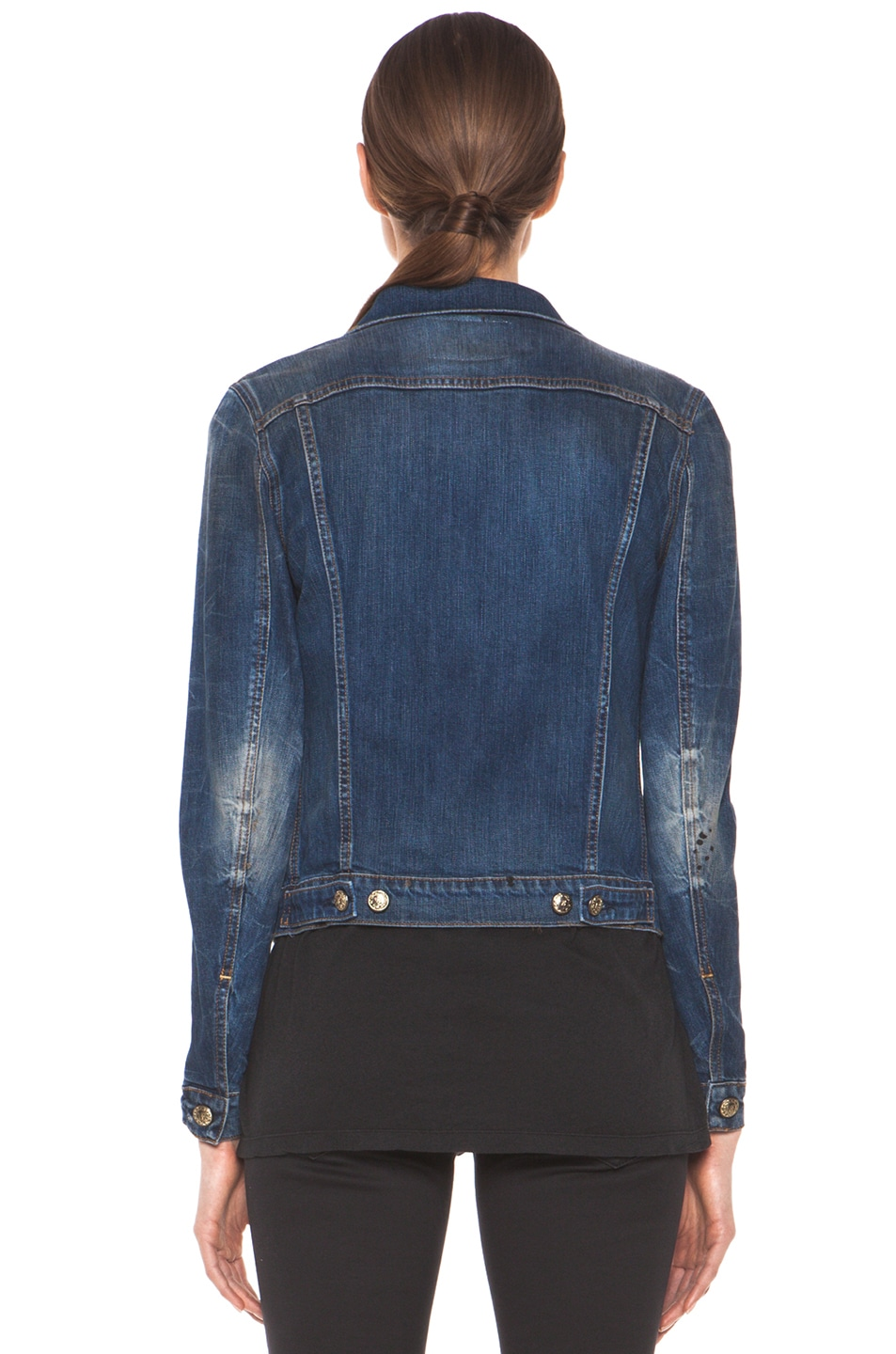Image 4 of R13 Denim Jacket in Medium Blue