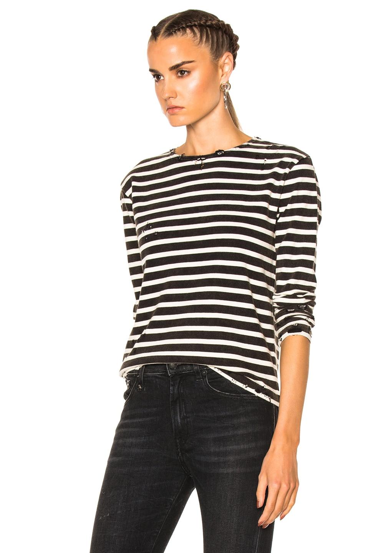 R13 Breton Long Sleeve T