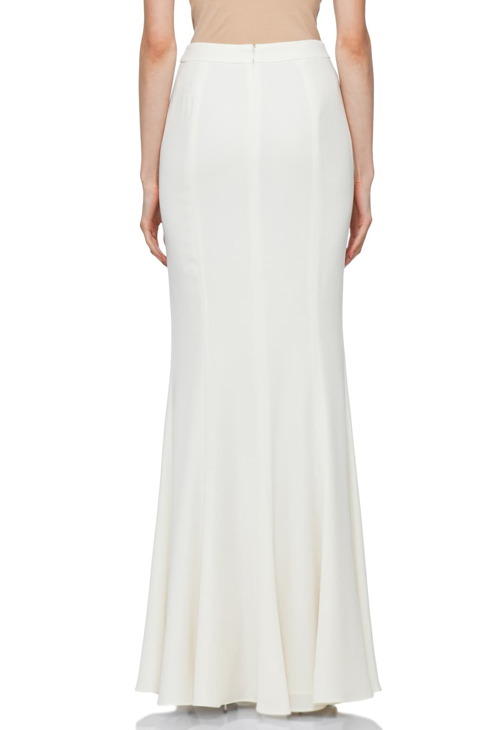 Image 4 of RACHEL ZOE Alia Flared Maxi Skirt in Snow