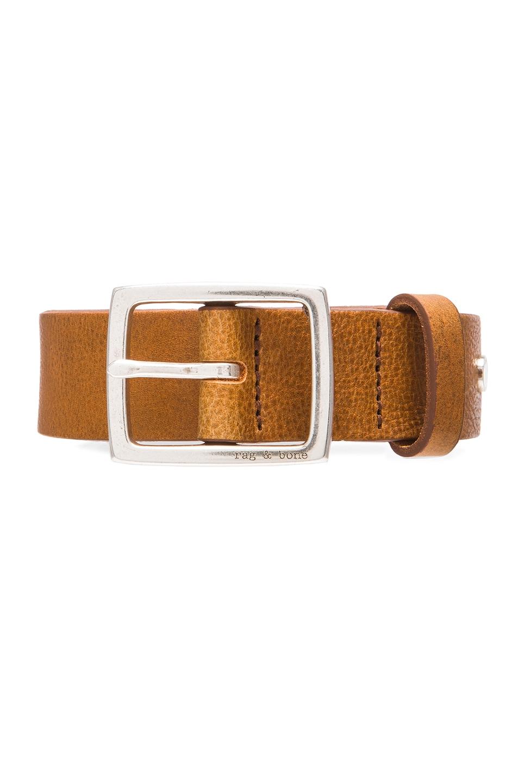 Image 4 of Rag & Bone Boyfriend Belt in Brown