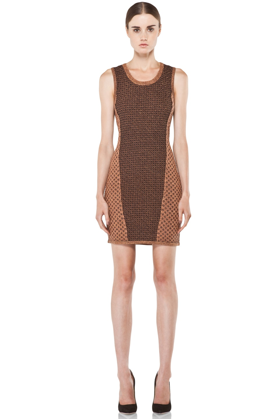 Image 1 of Rag & Bone Amanda Dress in Copper