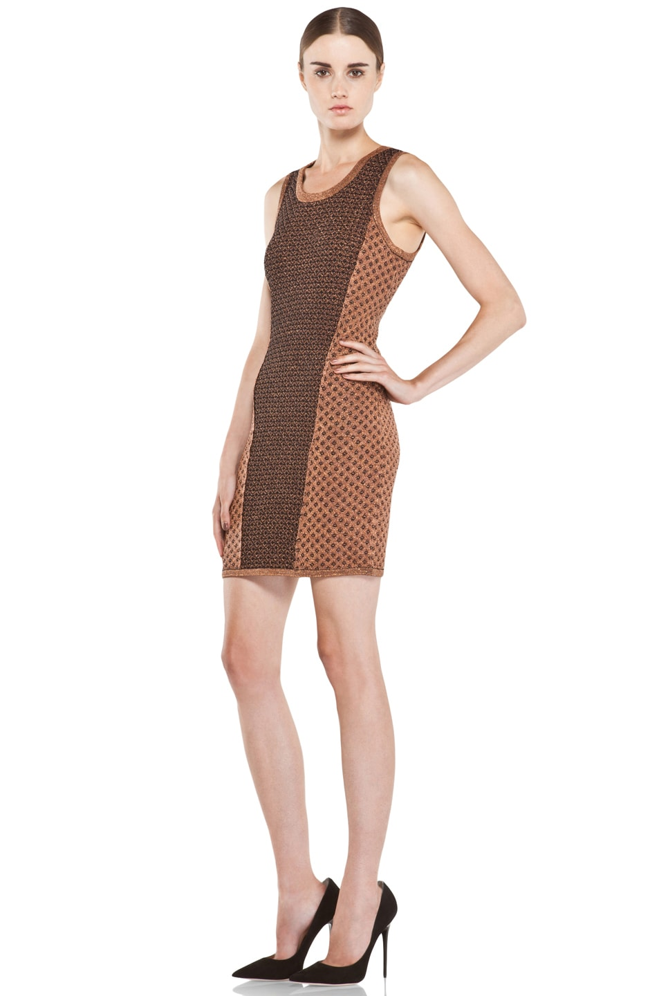Image 2 of rag & bone Amanda Dress in Copper