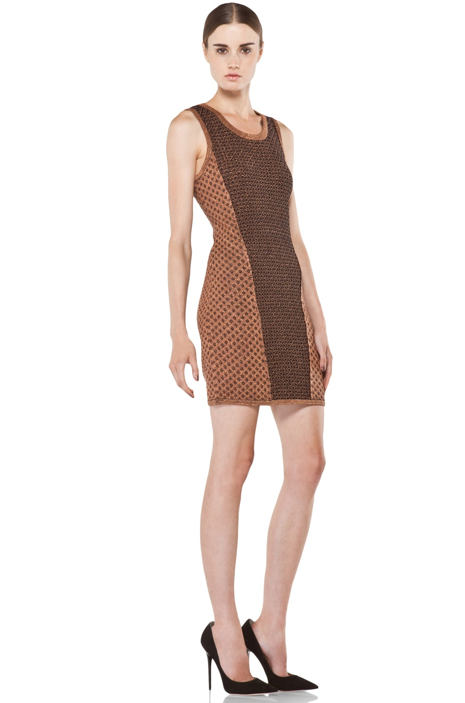 Image 3 of Rag & Bone Amanda Dress in Copper