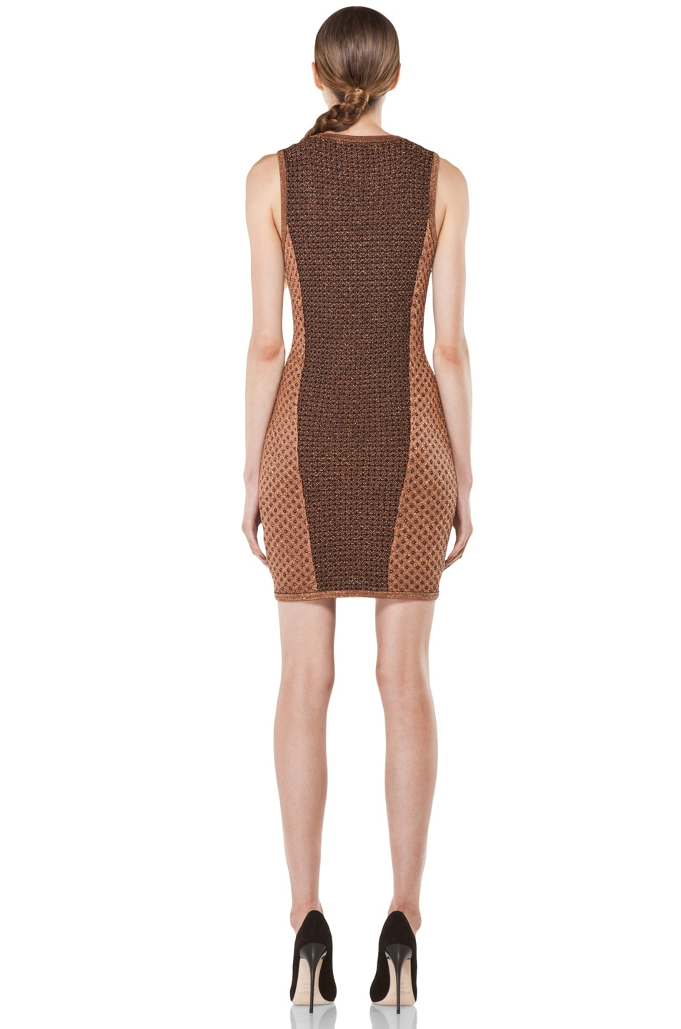 Image 4 of Rag & Bone Amanda Dress in Copper