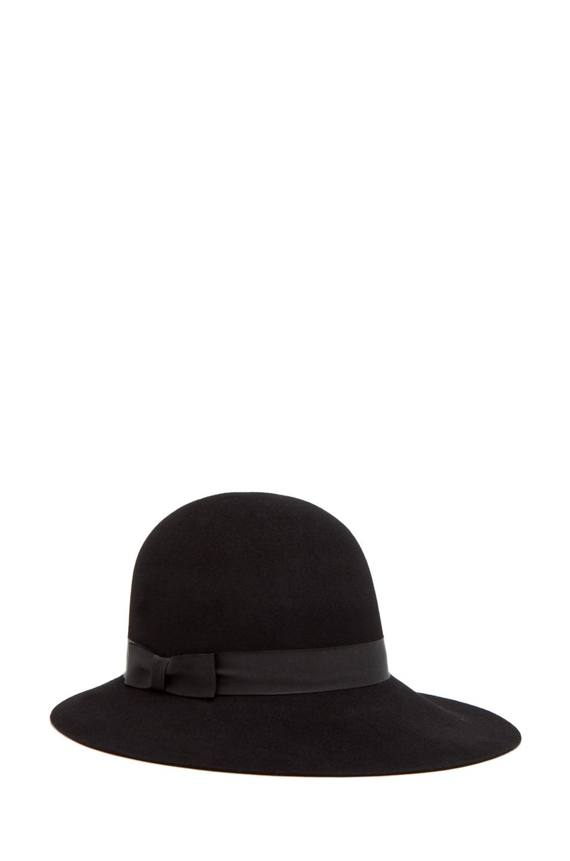 Image 1 of rag & bone Robinson Hat in Black