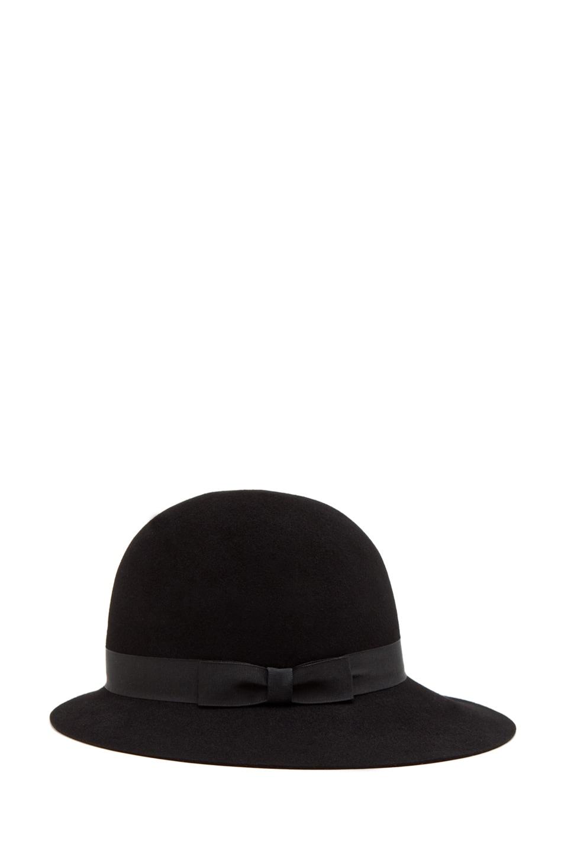 Image 3 of rag & bone Robinson Hat in Black