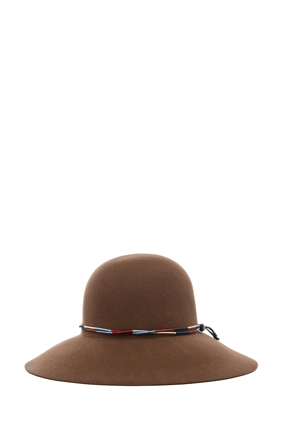 Image 2 of rag & bone Dunaway Hat in Chestnut