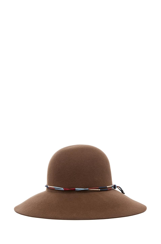 Image 2 of Rag & Bone Dunaway Hat in Chestnut