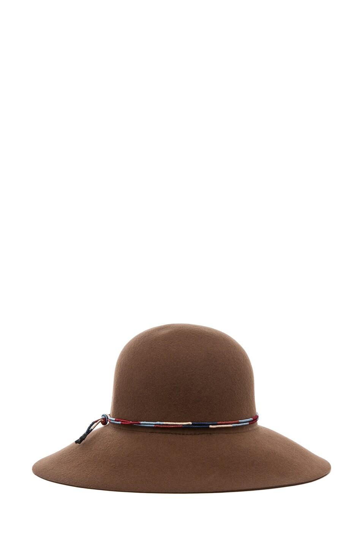 Image 4 of Rag & Bone Dunaway Hat in Chestnut