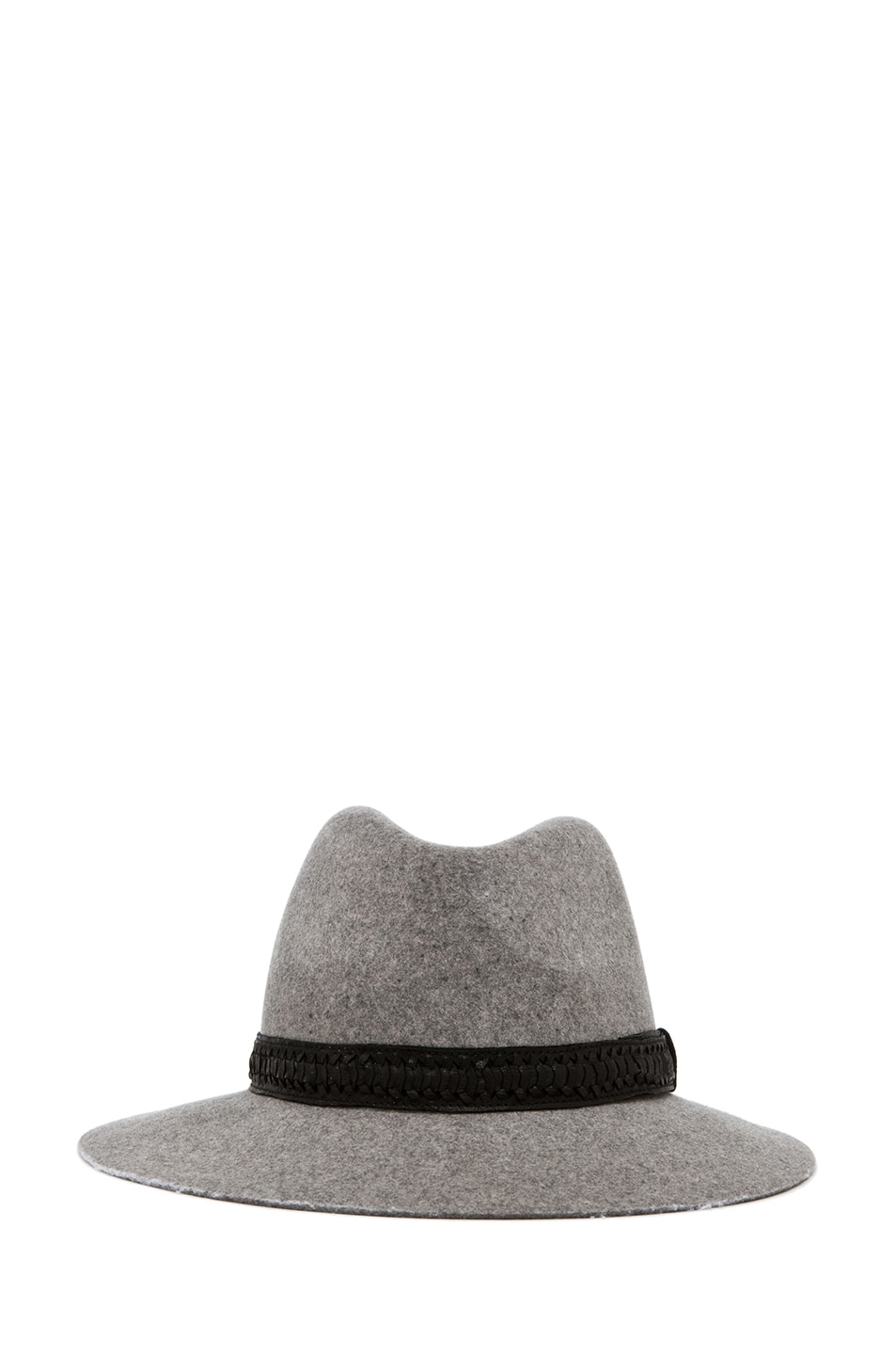 Image 1 of rag & bone Floppy Brim Fedora in Grey
