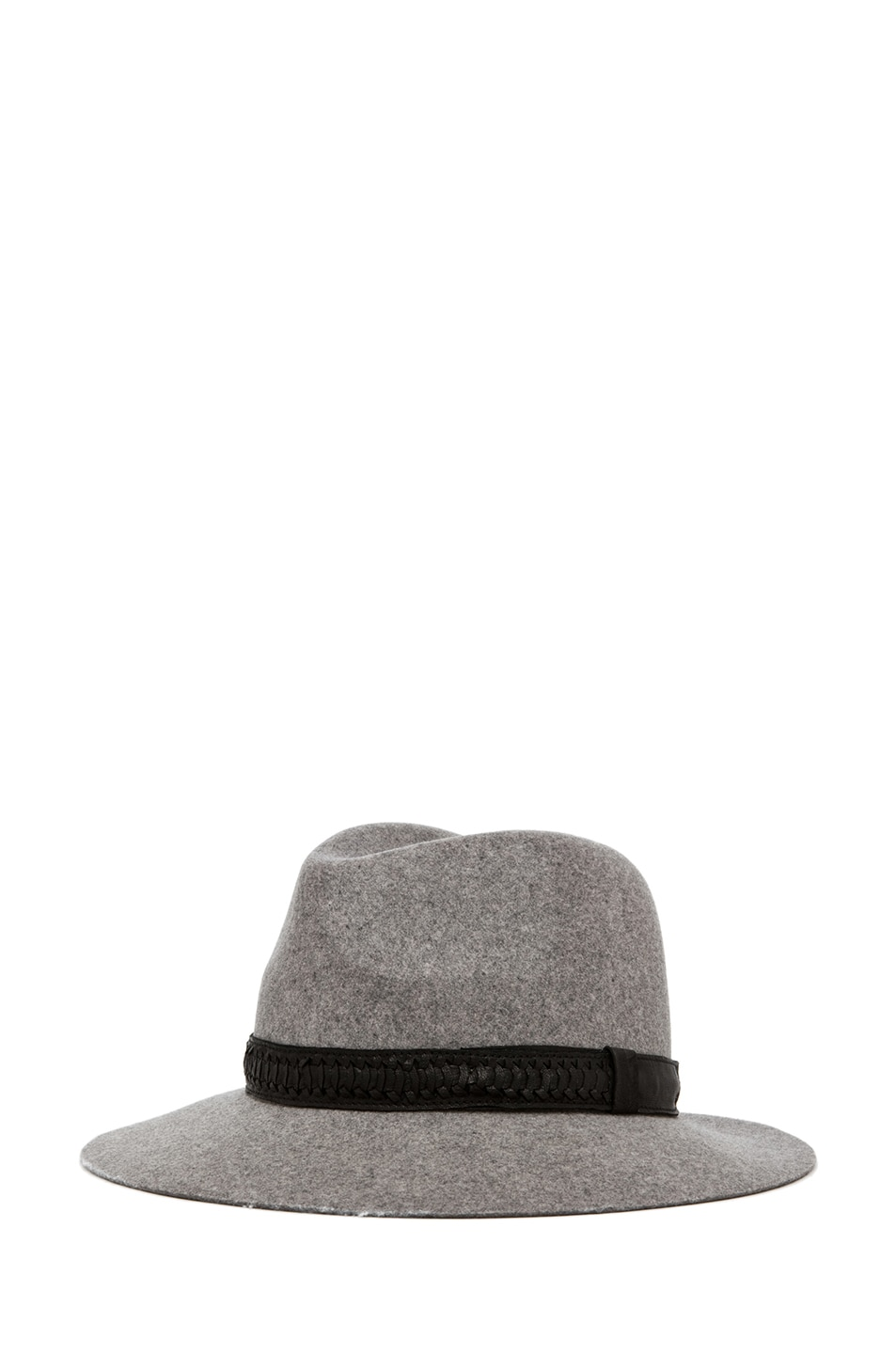 Image 2 of rag & bone Floppy Brim Fedora in Grey