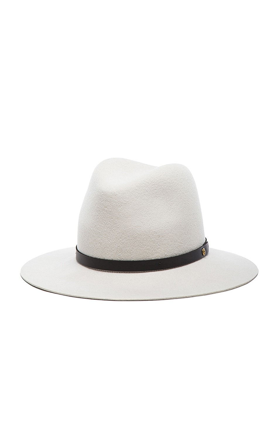 Image 2 of Rag & Bone Floppy Brim Fedora in Alpine White