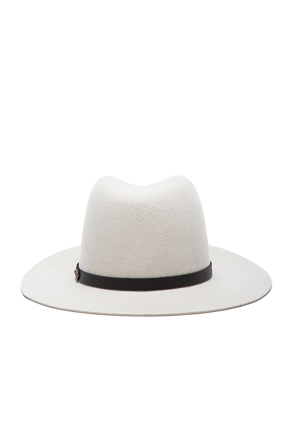 Image 4 of Rag & Bone Floppy Brim Fedora in Alpine White