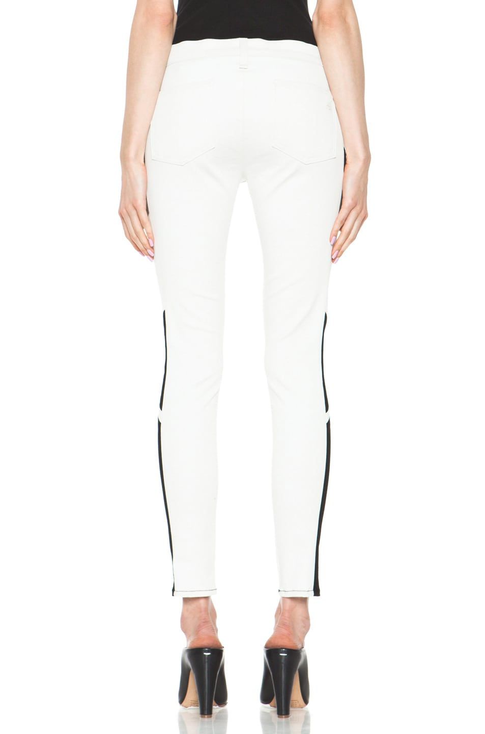 Image 4 of rag & bone JEAN Hailfox Legging in Winter White