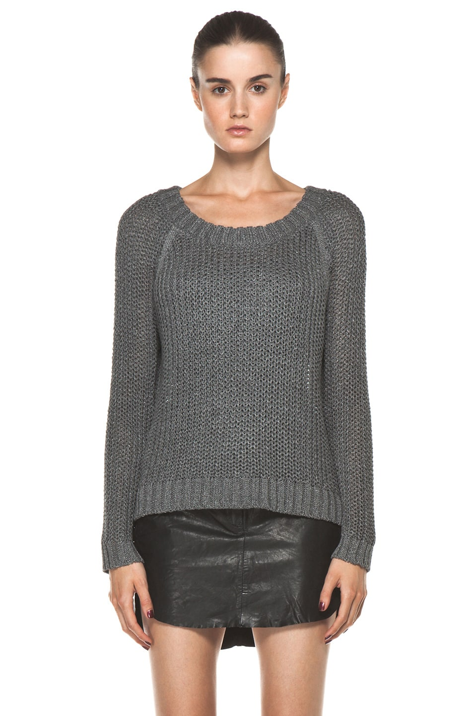 Image 1 of Rag & Bone Sandra Pullover in Grey