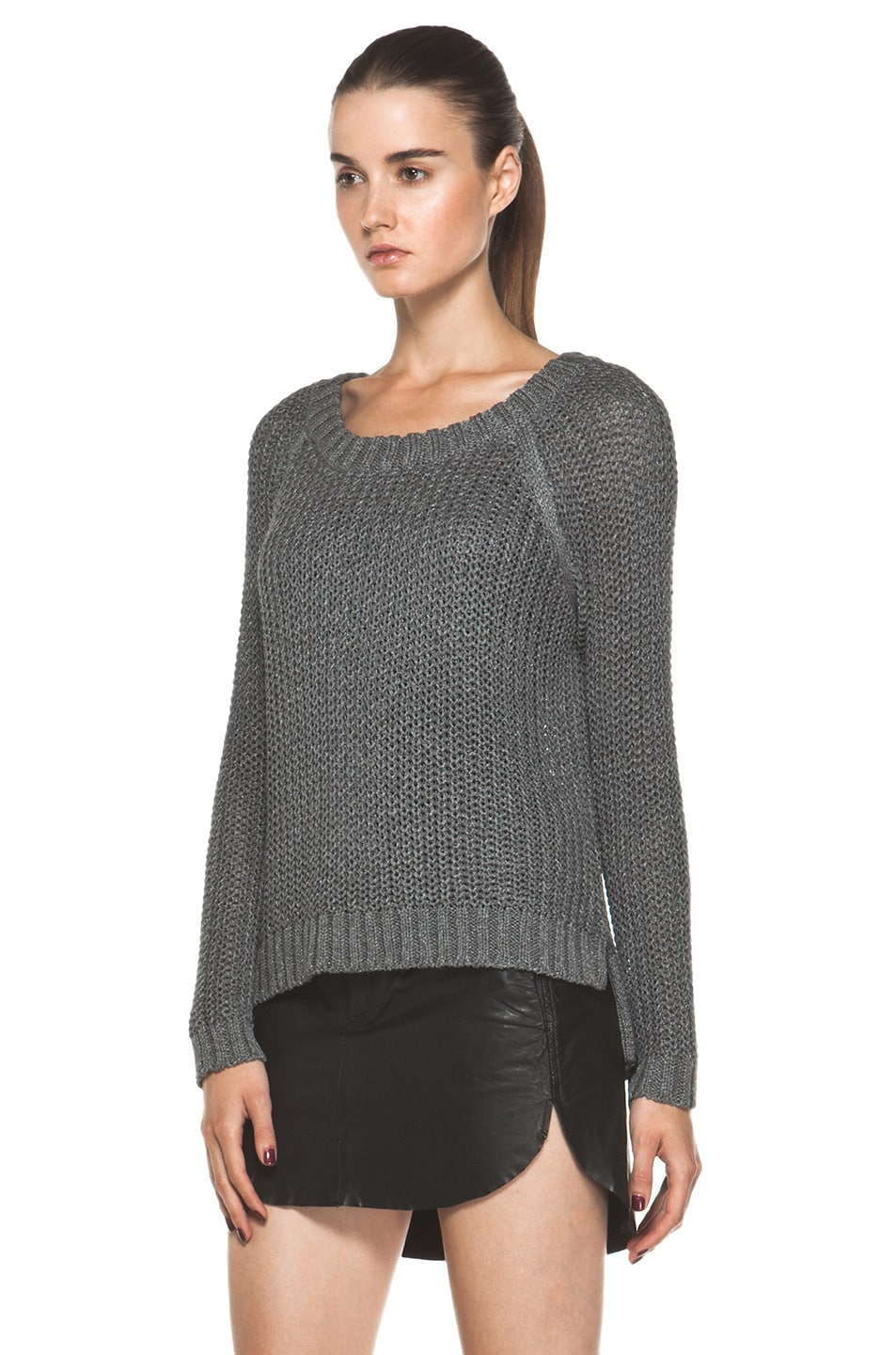 Image 2 of Rag & Bone Sandra Pullover in Grey
