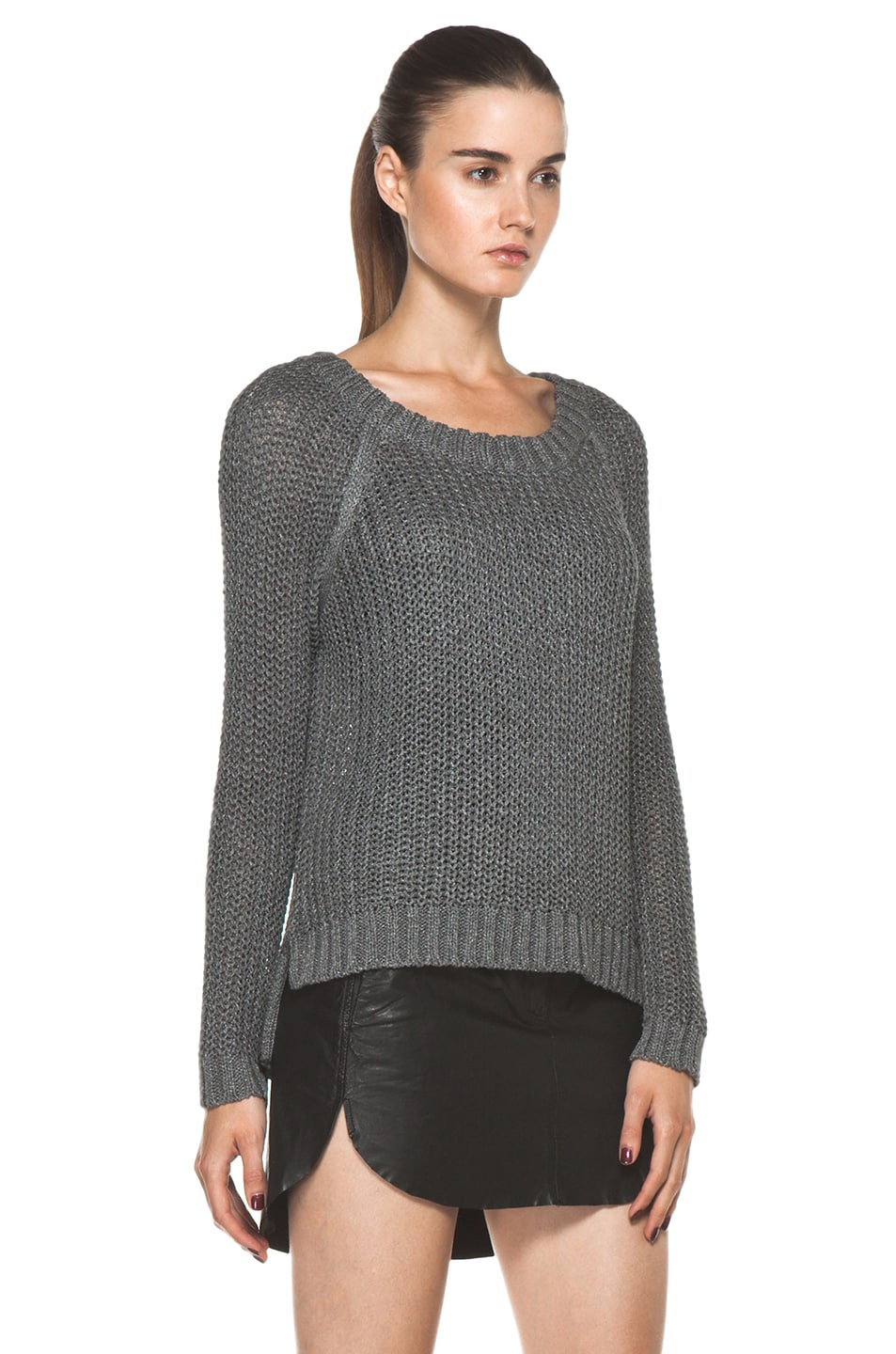 Image 3 of Rag & Bone Sandra Pullover in Grey