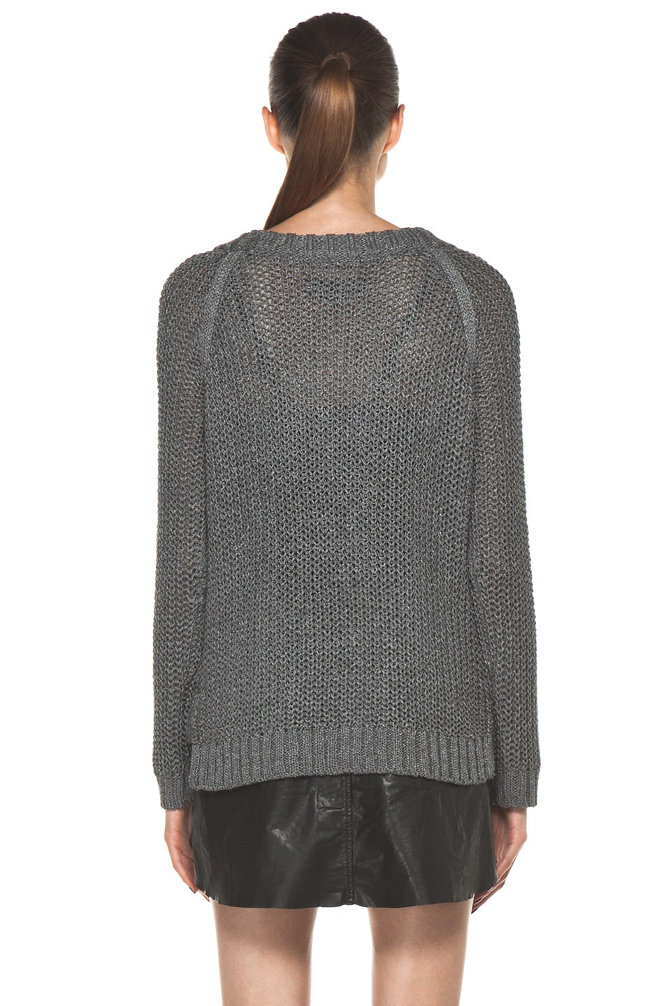 Image 4 of Rag & Bone Sandra Pullover in Grey