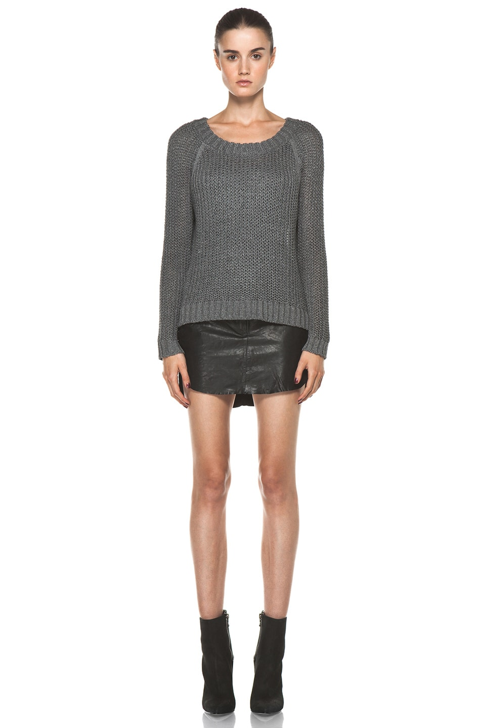Image 5 of Rag & Bone Sandra Pullover in Grey