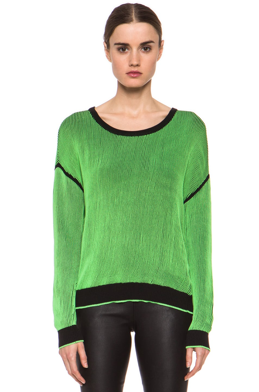 Image 1 of Rag & Bone Benny Sweater in Green