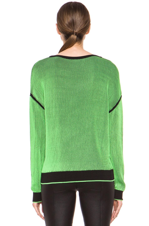 Image 4 of Rag & Bone Benny Sweater in Green