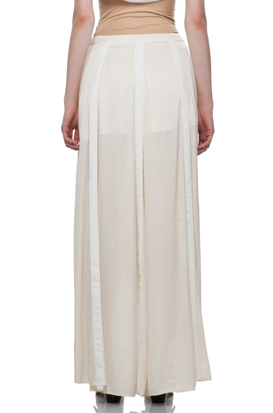 Image 4 of Rag & Bone Parachute Skirt in Ivory