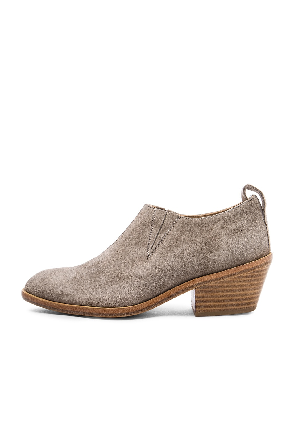 Image 5 of Rag & Bone Suede Thompson Boots in Warm Grey Suede