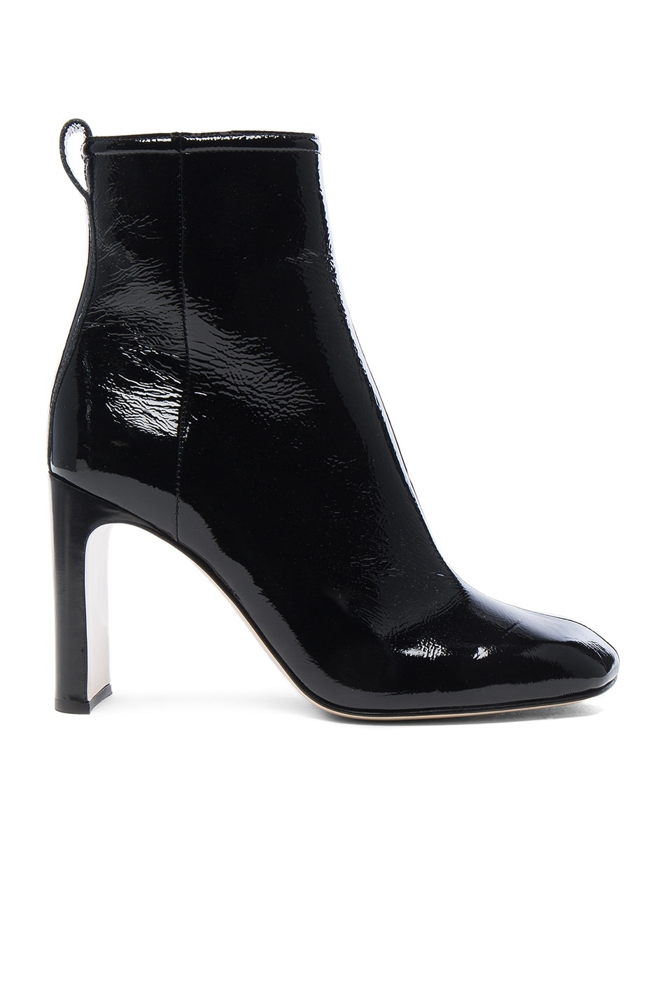 Image 1 of Rag & Bone Patent Leather Ellis Boot in Black