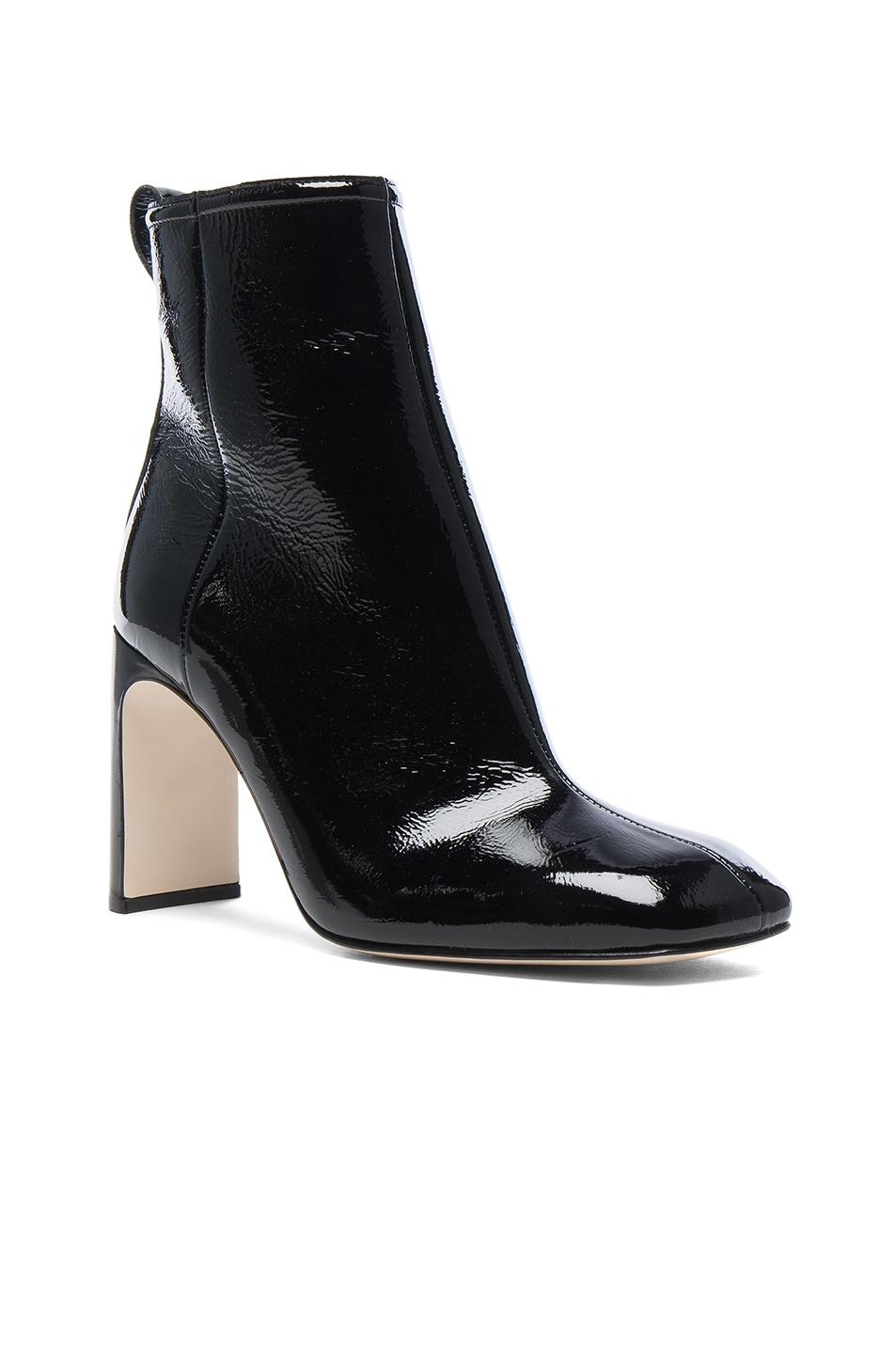 Image 2 of Rag & Bone Patent Leather Ellis Boot in Black