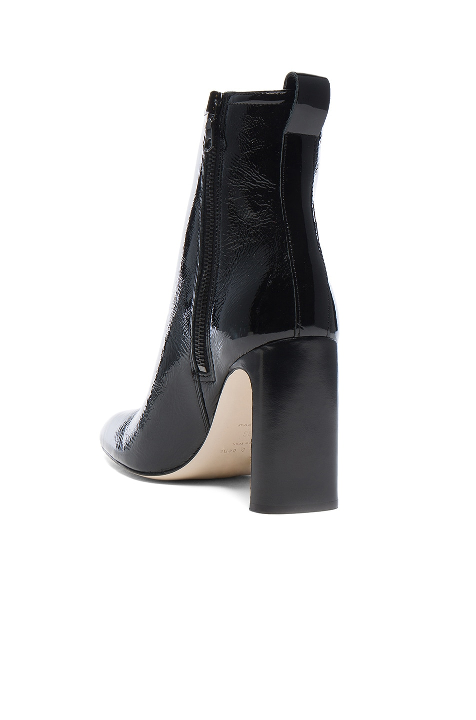 Image 3 of Rag & Bone Patent Leather Ellis Boot in Black
