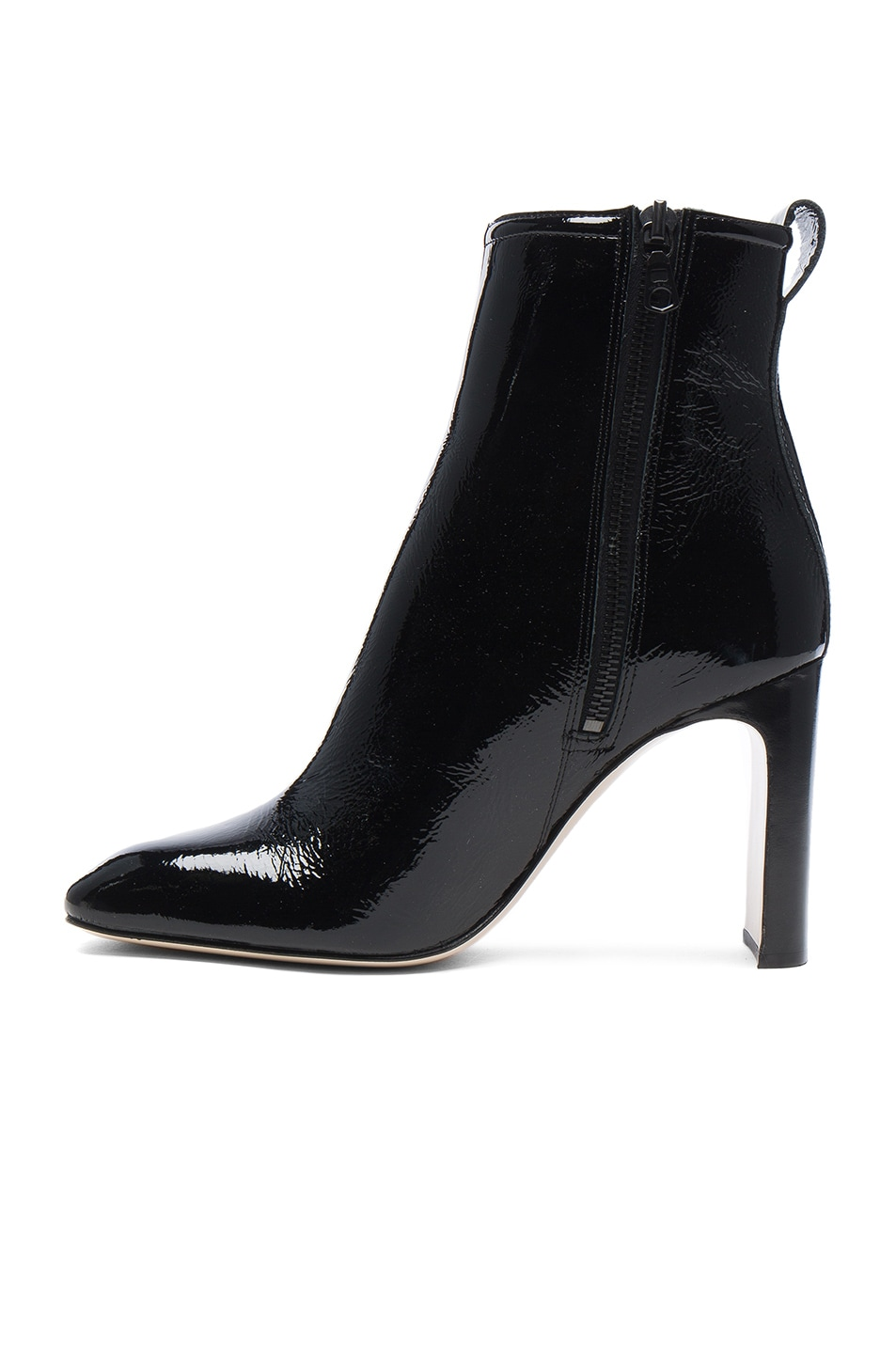 Image 5 of Rag & Bone Patent Leather Ellis Boot in Black