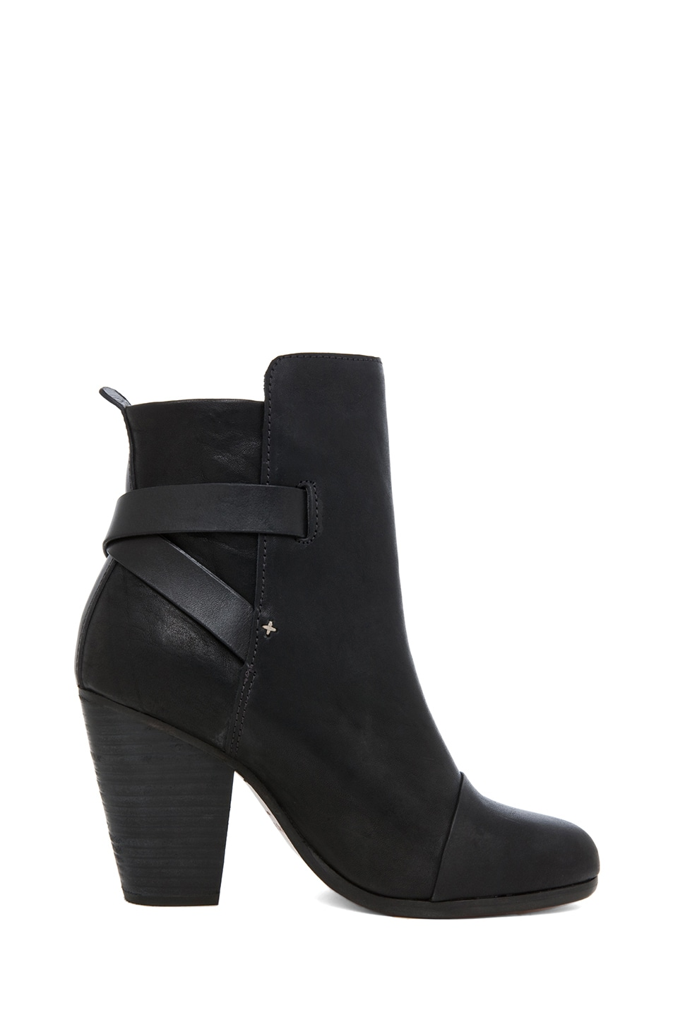 Image 5 of rag & bone Kinsey Leather Boots in Black