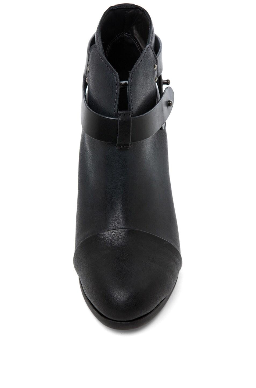 Image 4 of Rag & Bone Harrow Leather Boots in Black