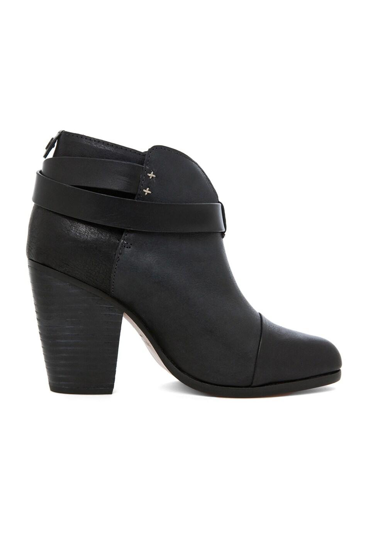 Image 5 of Rag & Bone Harrow Leather Boots in Black