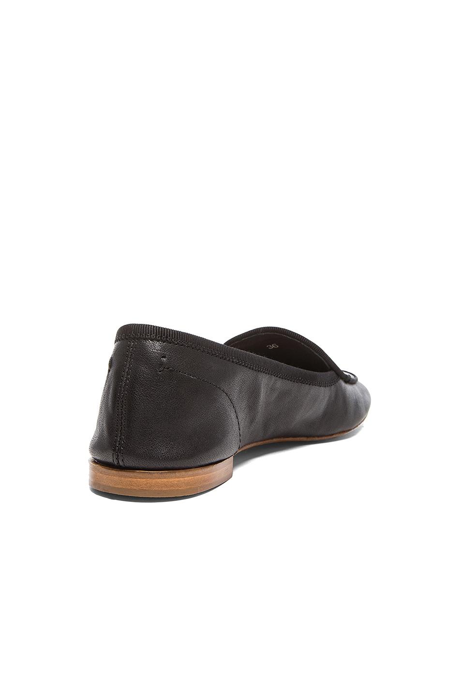 Image 3 of Rag & Bone Beeman Leather Loafers in Black