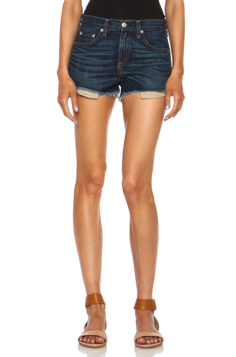 Image 1 of rag & bone/JEAN High Rise Mila Short in Doheny