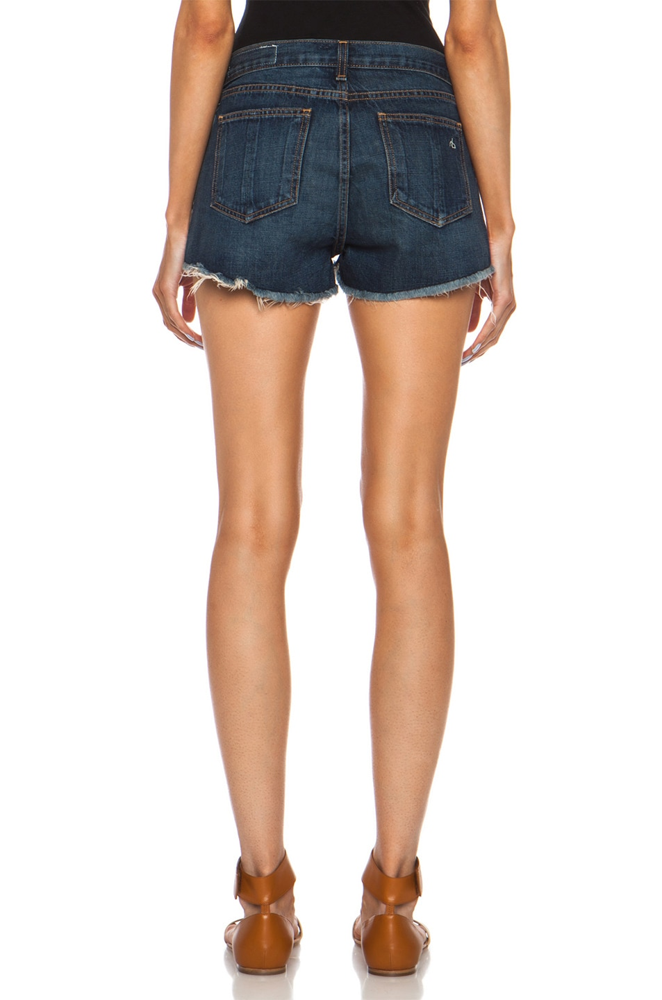 Image 4 of rag & bone/JEAN High Rise Mila Short in Doheny