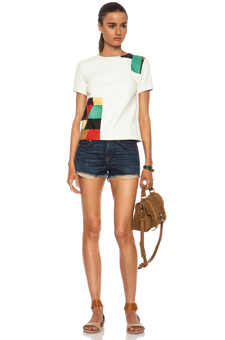 Image 5 of rag & bone/JEAN High Rise Mila Short in Doheny