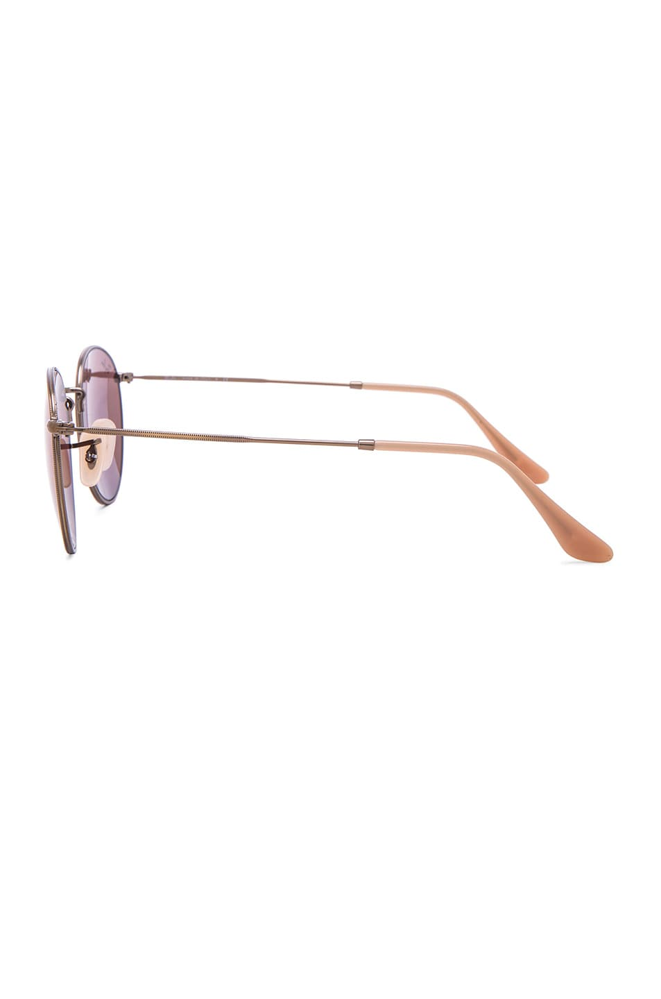 Image 3 of Ray-Ban Round Sunglasses in Red Mirror