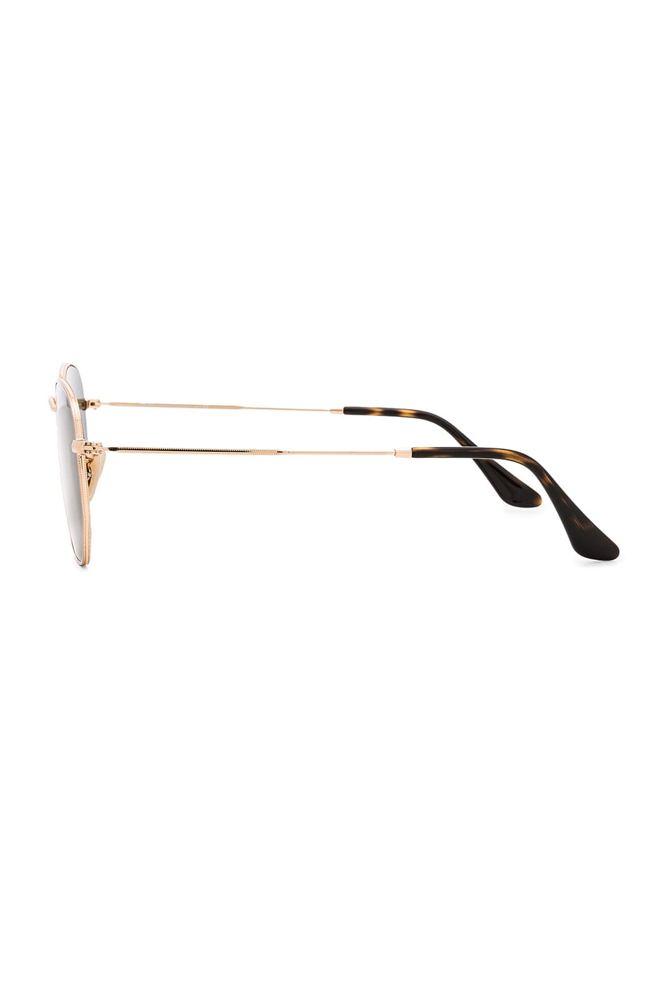 Image 3 of Ray-Ban Hexagon Sunglasses in Gold