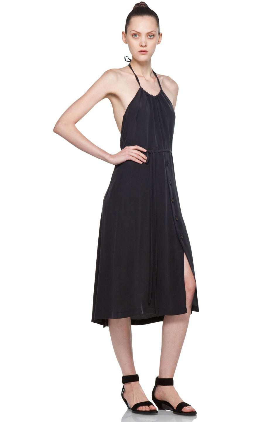 Image 3 of Rachel Comey Driscoll Dress in Ash