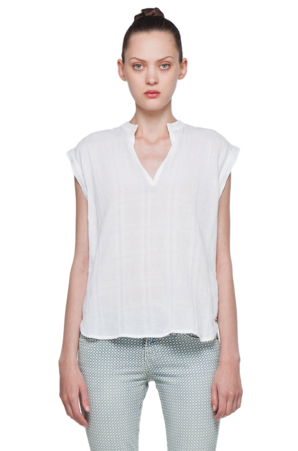 Image 1 of Rachel Comey Rusk Top in White