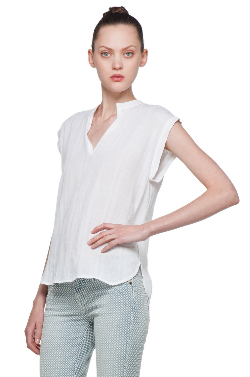 Image 2 of Rachel Comey Rusk Top in White