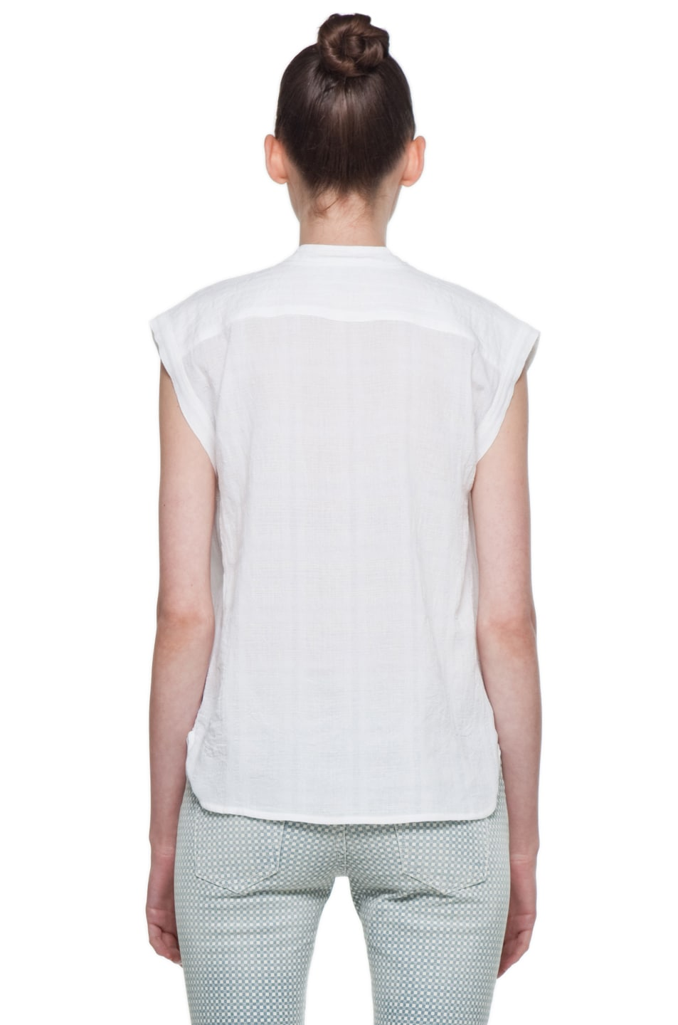 Image 4 of Rachel Comey Rusk Top in White