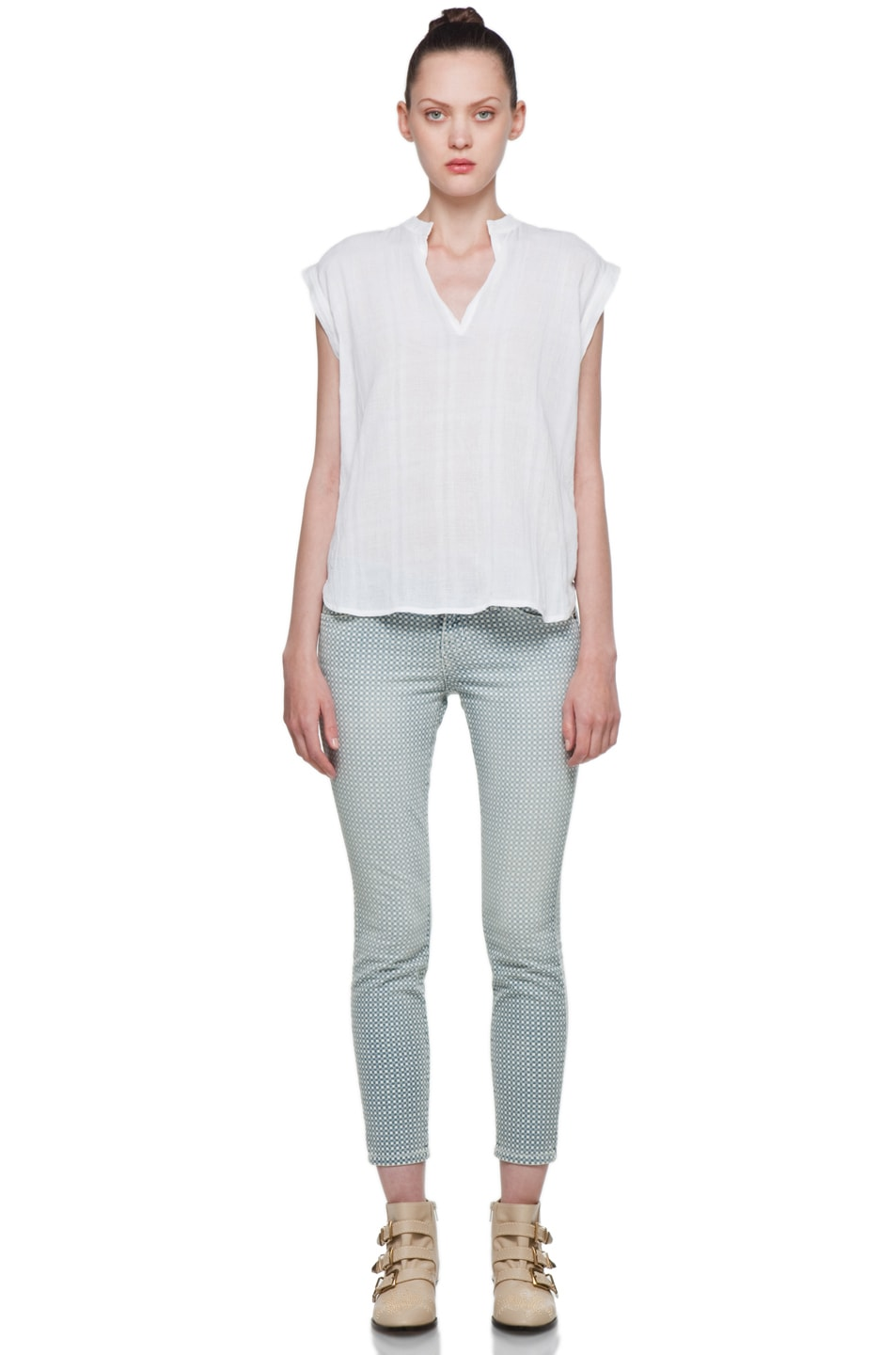 Image 5 of Rachel Comey Rusk Top in White
