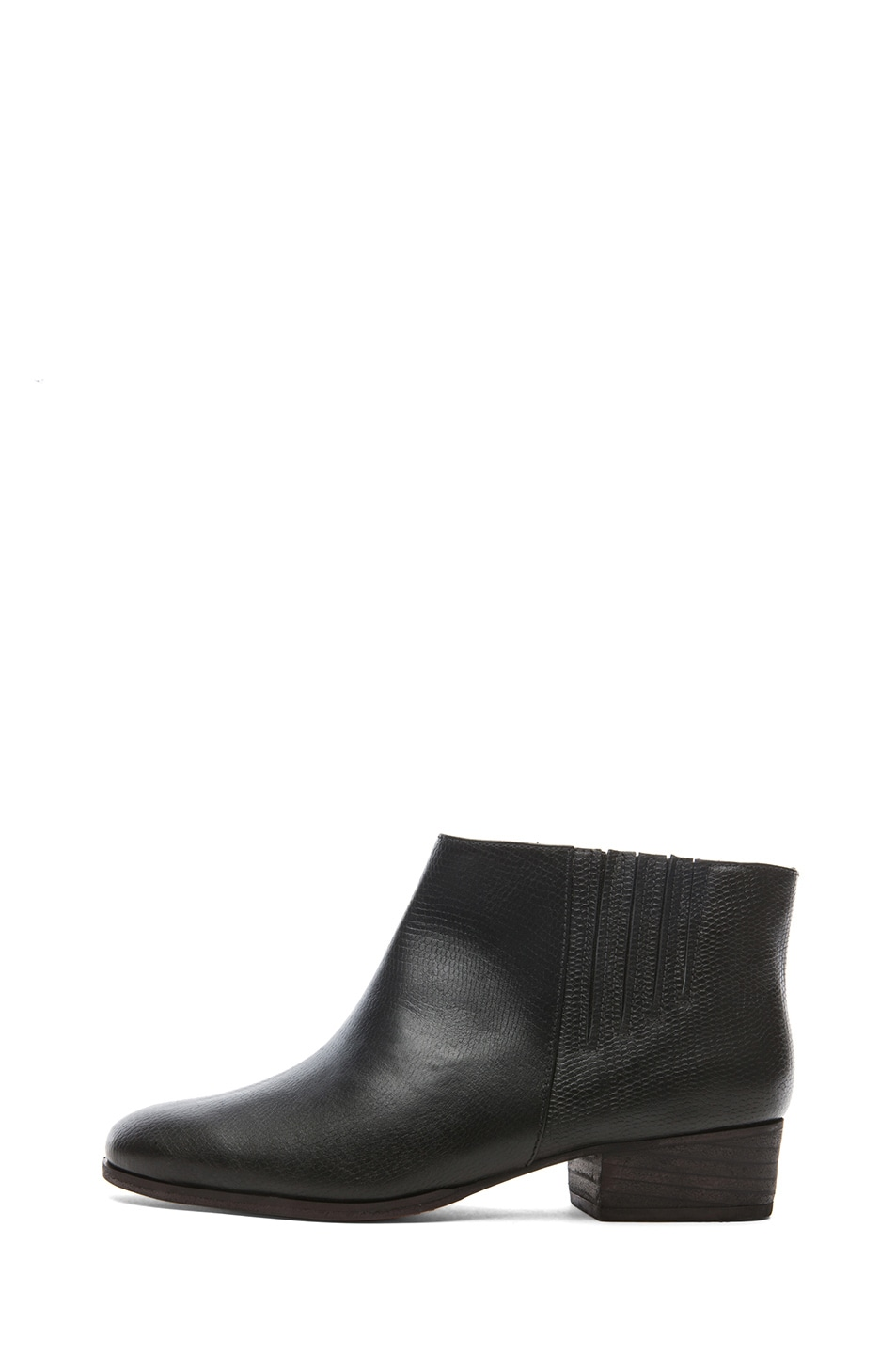 Image 1 of Rachel Comey Coy Leather Bootie in Black
