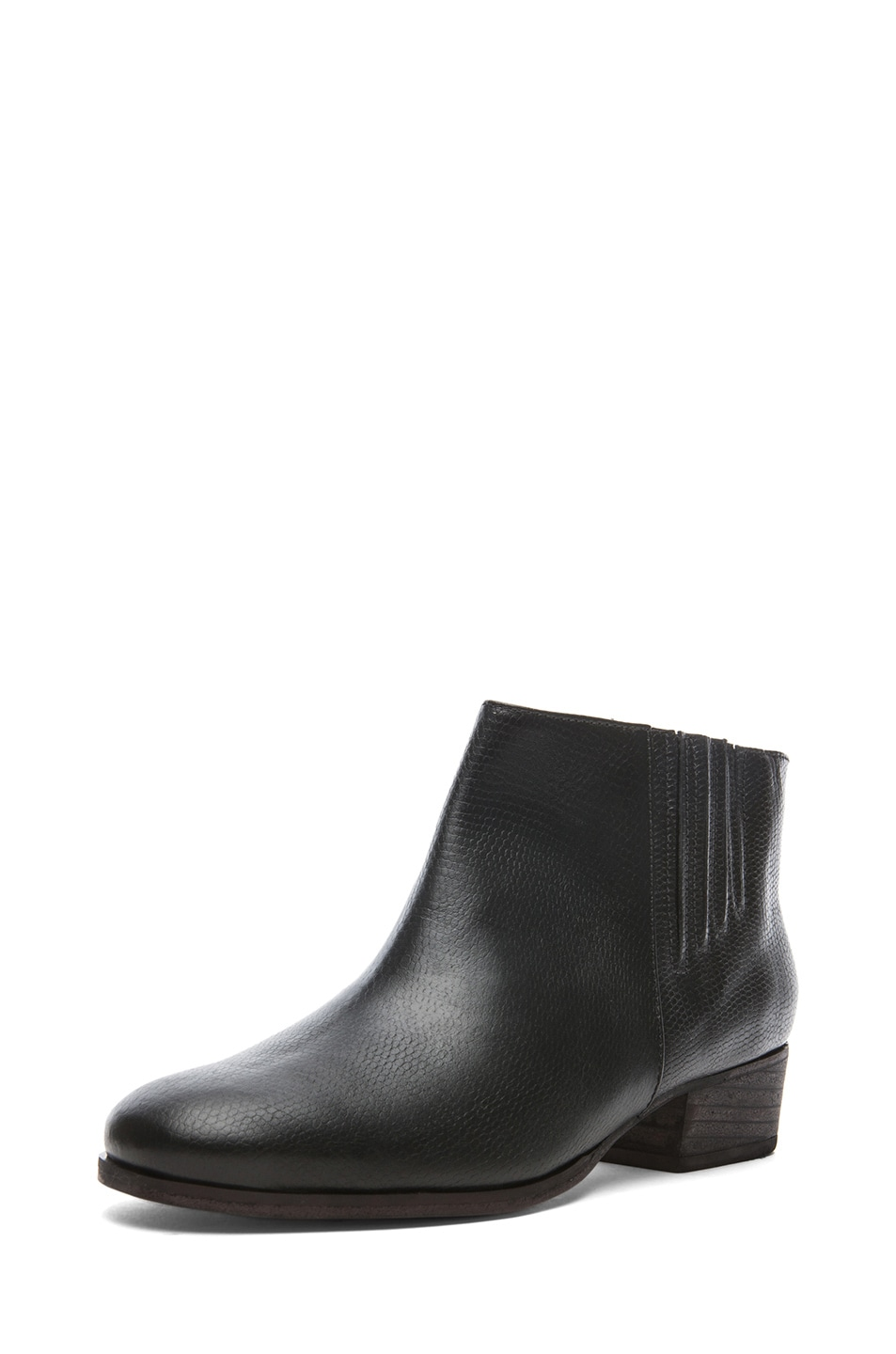 Image 2 of Rachel Comey Coy Leather Bootie in Black