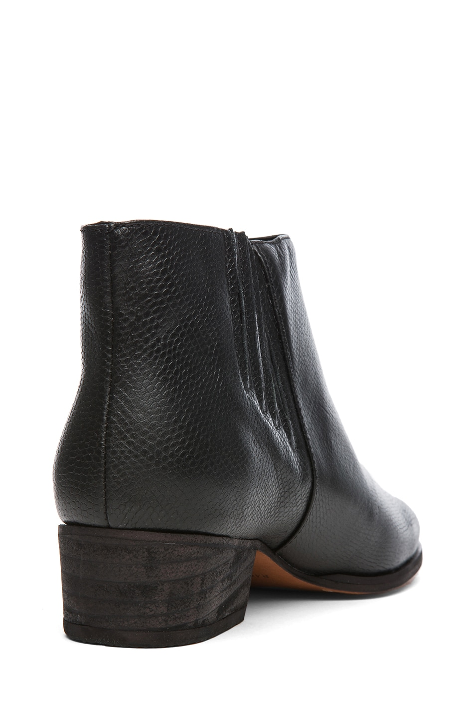 Image 3 of Rachel Comey Coy Leather Bootie in Black