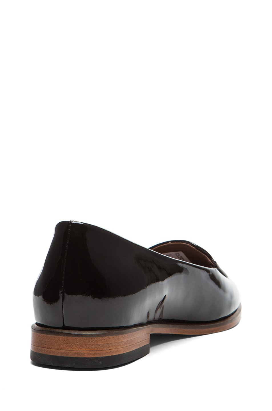 Image 3 of Rachel Comey Bolt Patent Leather Flats in Deep Plum