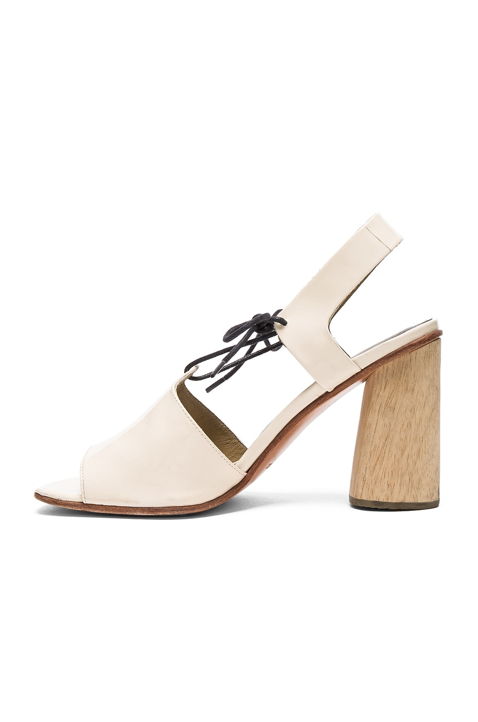 Image 5 of Rachel Comey Patent Leather Melrose Heels in Creamsicle Patent
